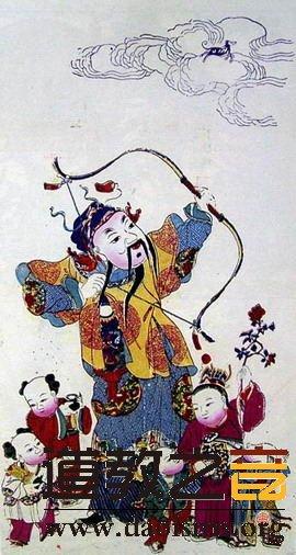 道教神仙——送子之神张仙