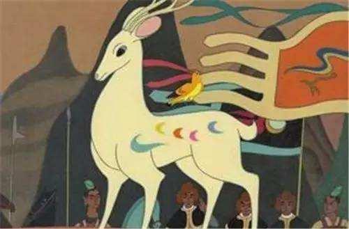 天下的九色鹿的故事 九色鹿故事 幼儿