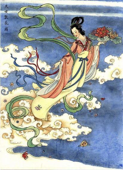 仙女散花的传说 天女散花神话故事