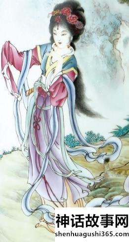 巫山神女瑶姬的故事