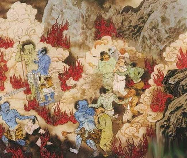 十八层地狱的传说故事  关于地狱的故事