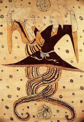 伏羲和女娲的关系 伏羲女娲