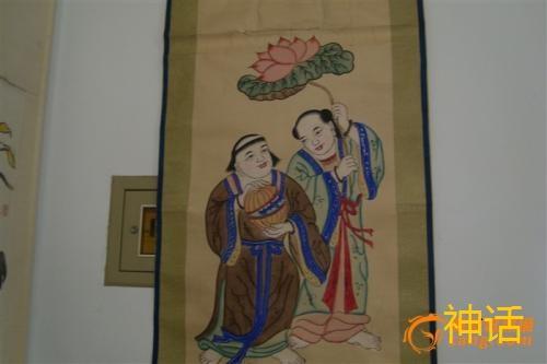 和合二仙 主婚姻的和合二仙 民间传说的爱神