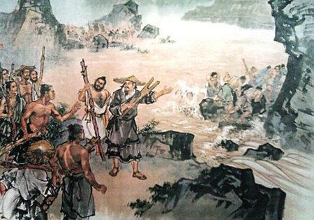 大禹治理黄河的神话传说
