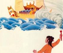 关于神笔马良的故事 一个正义勇敢的少年